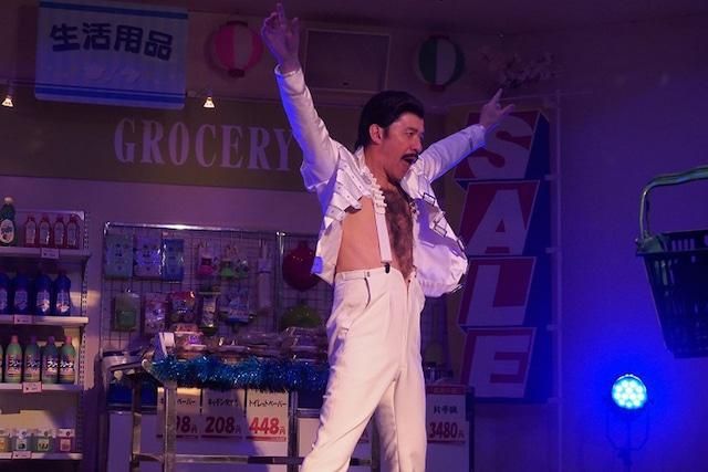 3月21日放送回より、コント「スーパースター」。