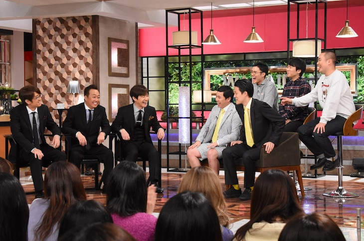 「内村&さまぁ~ずの初出しトークバラエティ 笑いダネ」のワンシーン。(c)日本テレビ