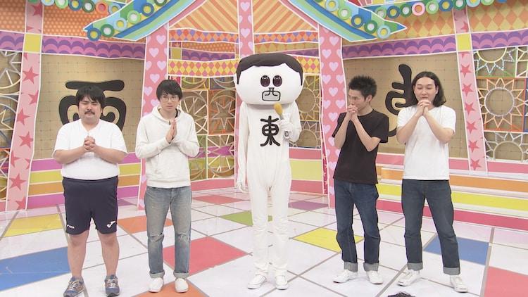 (左から)空気階段、西東さん、かが屋。(c)中京テレビ