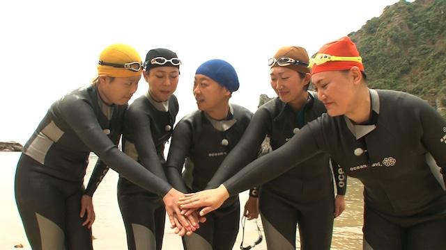 「女芸人遠泳部 in ベトナム」のワンシーン。(c)日本テレビ