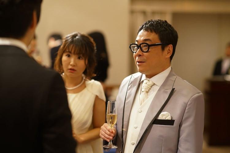 「きのう何食べた?」第9話に出演するバッファロー吾郎A(右)。