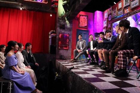 「嫌なテレビ業界人」のコーナーにゲスト出演する三倉茉奈(左端)ら。(c)ABC