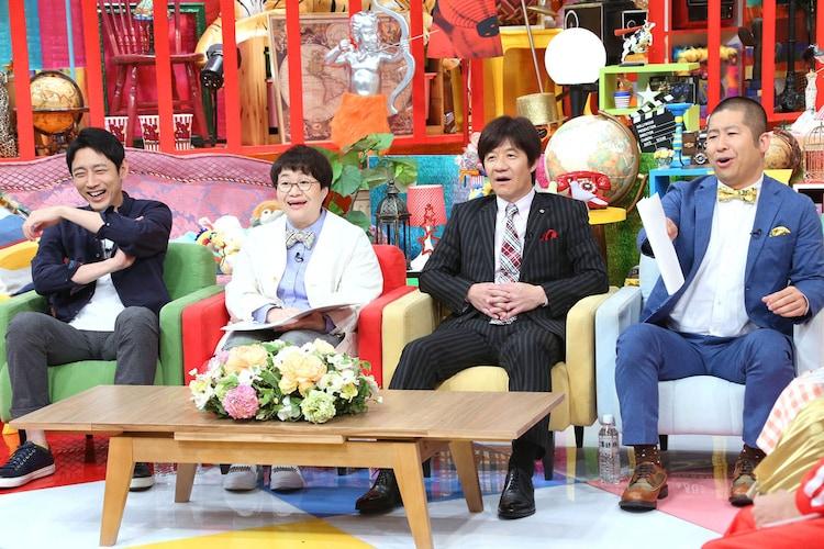特別審査委員長の小泉孝太郎(左端)。(c)テレビ東京
