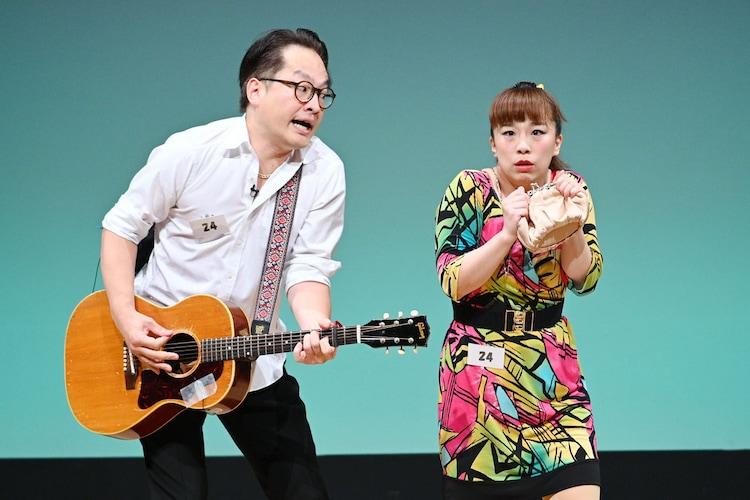 ヤンシー&マリコンヌ(松浦真也と森田まりこ)