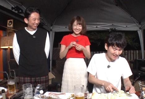 夏野菜カレーを調理する様子。(c)日本テレビ