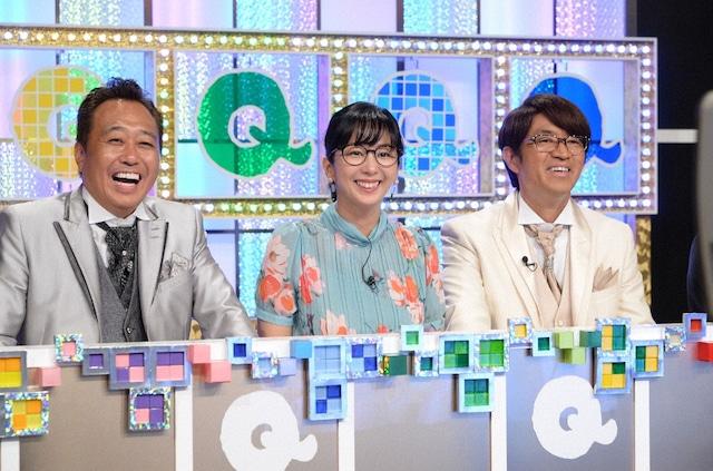 MCのさまぁ~ずと優香(中央)。(c)テレビ朝日