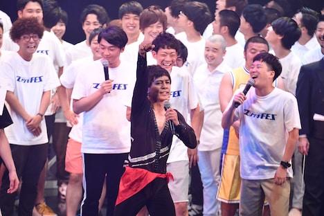MVPに選ばれたさや香・石井が「マンゲキFES」を締めくくった。