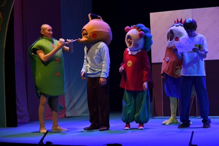 舞台「コジコジ」の公開ゲネプロより。