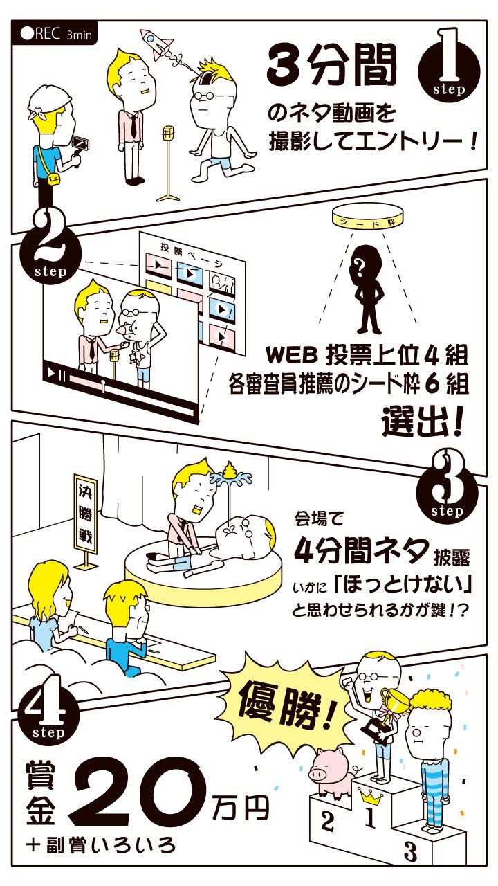 「ほっとけない学生芸人GP」本選の参加方法。