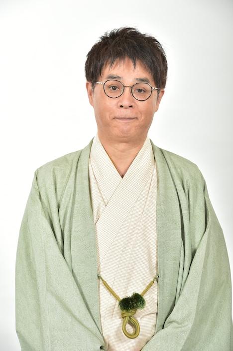 新情報番組「グッとラック!」MCの立川志らく。