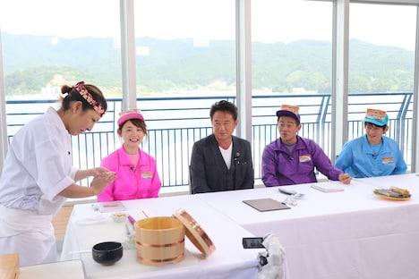 「これが日本最強のネタ 決定!三陸の極上寿司」のワンシーン。(c)テレビ岩手