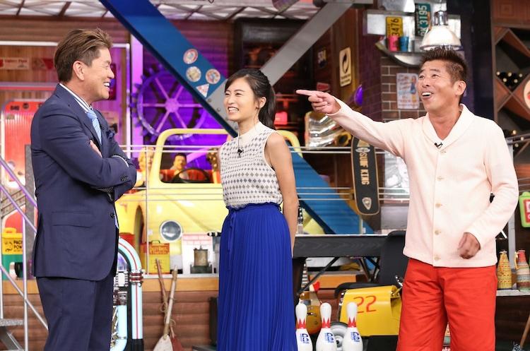 左からヒロミ、小島瑠璃子、勝俣州和。(c)日本テレビ