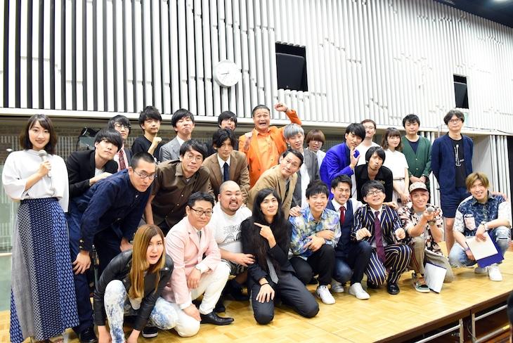 「オールナイトニッポン0(ZERO)~決戦!お笑い有楽城~」の出演者。