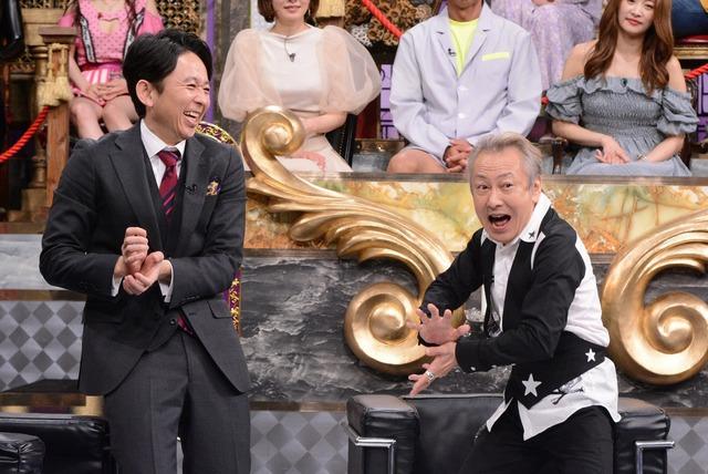 左から有吉弘行、堀川りょう。(c)日本テレビ