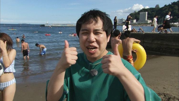 「冒険発掘バラエティ 霜降り明星のあてみなげ」のワンシーン。(c)静岡朝日テレビ