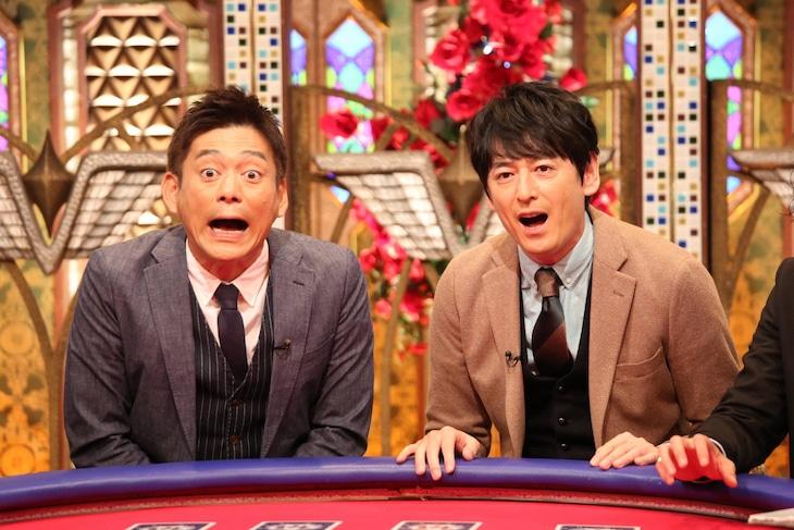 「TOKIOカケル」にゲスト出演する博多華丸・大吉。(c)フジテレビ