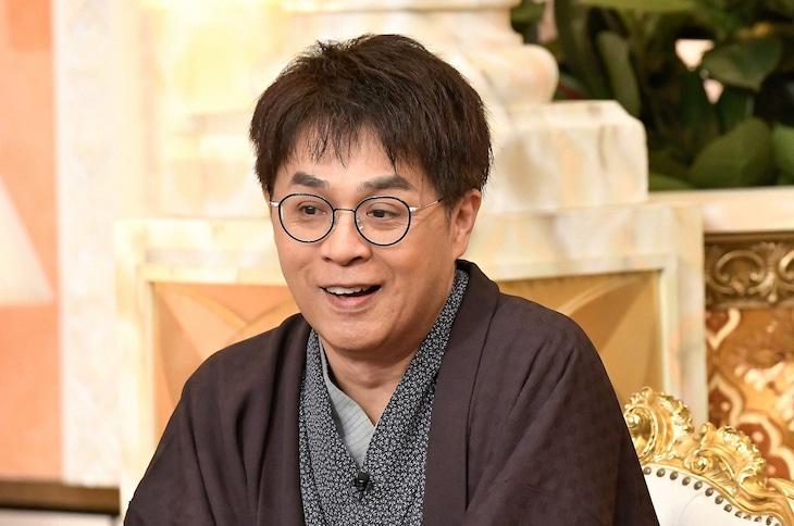 「櫻井・有吉THE夜会」にゲスト出演する立川志らく。(c)TBS