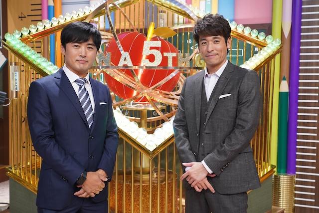 左から劇団ひとり、佐藤隆太。(c)日本テレビ