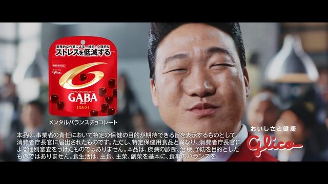 新CM「ストレスにはGABA」編より。