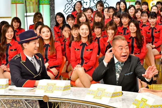 「中居正広のキンスマスペシャル」に出演する(手前左から)中居正広、出川哲朗。(c)TBS
