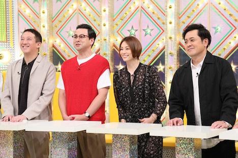 くりぃむしちゅー有田(右端)率いる「有田ナイン」のメンバー。(c)テレビ朝日