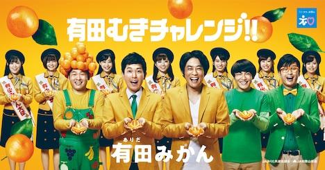 「有田むきチャレンジキャンペーン」イメージビジュアル