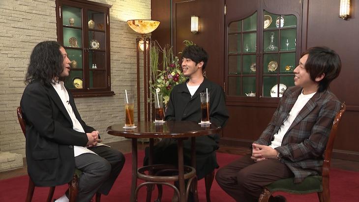「ボクらの時代」に出演する(左から)ピース又吉、キングコング。(c)フジテレビ