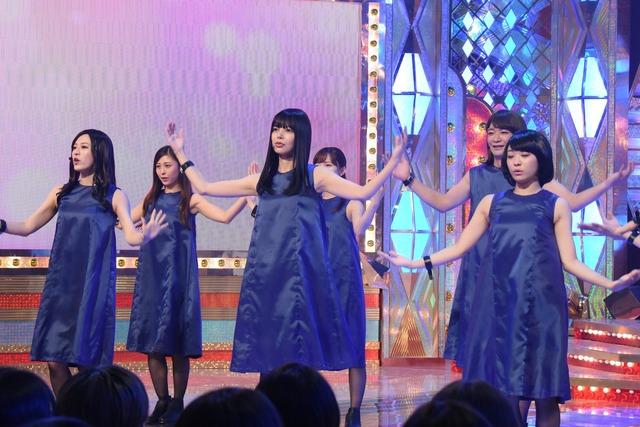 「ものまねグランプリ 秋のガチランキングスペシャル!」のワンシーン。(c)日本テレビ
