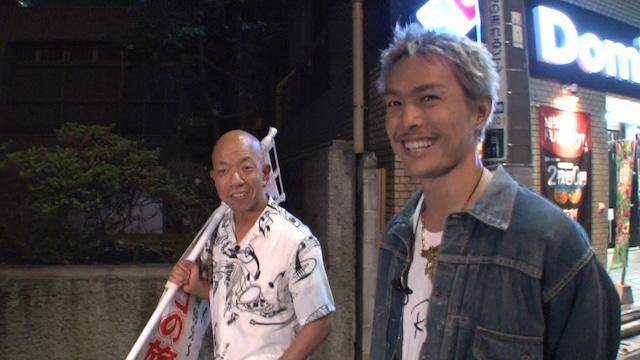 左からバイきんぐ小峠、今市隆二。(c)日本テレビ