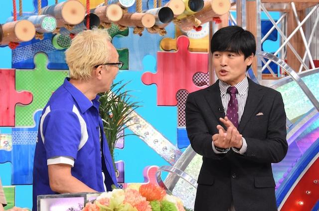 左から所ジョージ、劇団ひとり。(c)日本テレビ