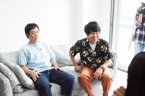 「乃木坂どこへ」ロケの様子。(c)日本テレビ