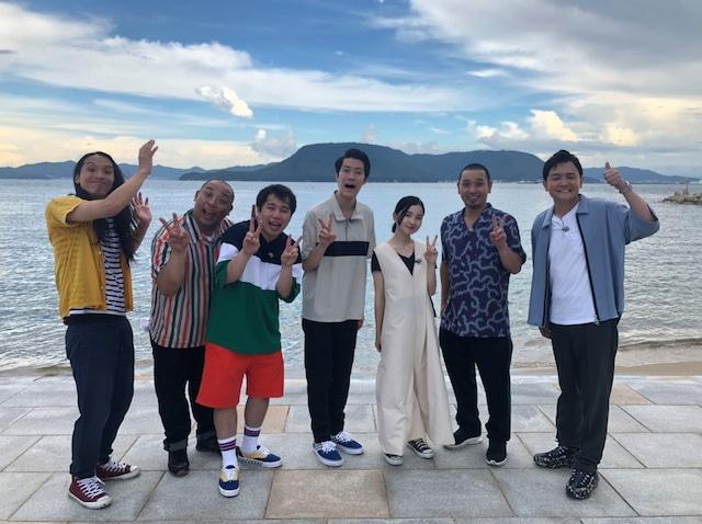 「千鳥の島シリーズ」の参加者たち。