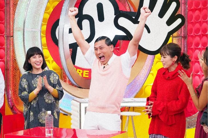 「ソレダメ!」特別編より、オードリー春日(中央)。(c)テレビ東京