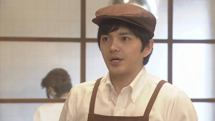 高級食パン屋の新人を演じる林遣都。(c)NHK