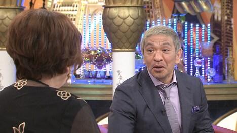 (左から)上沼恵美子、松本人志。(c)関西テレビ