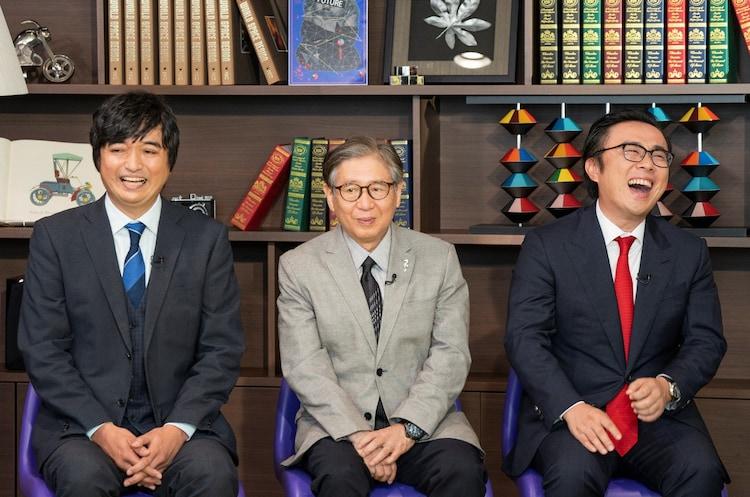 左から足立基浩、森田正光、坪田信貴。(c)読売テレビ
