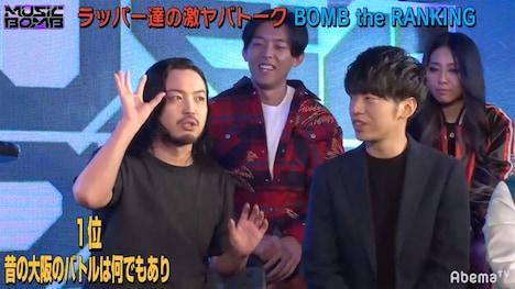 「MUSIC BOMB」初回ゲストのCreepy Nuts。