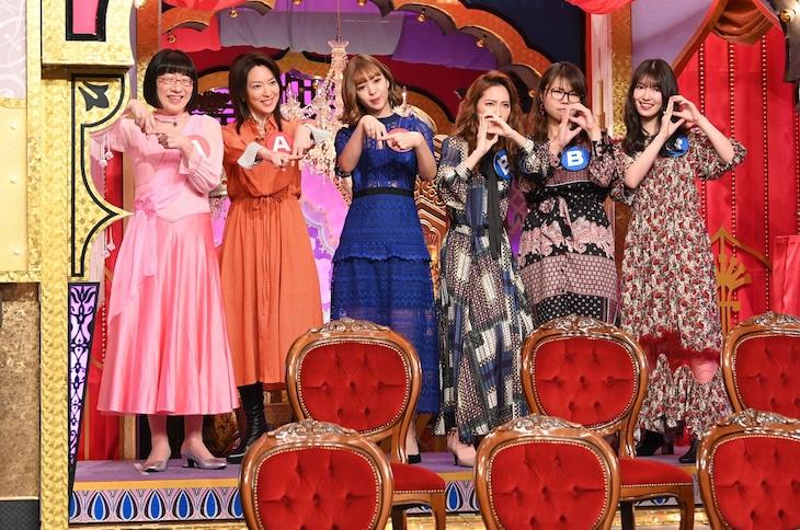 「今夜くらべてみました」のワンシーン。(c)日本テレビ
