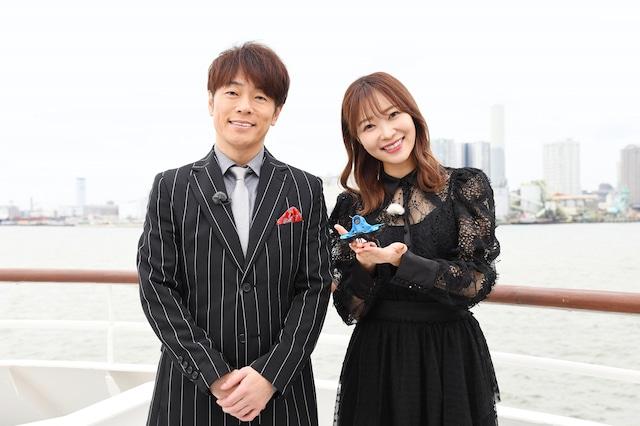 左から陣内智則、指原莉乃。(c)日本テレビ