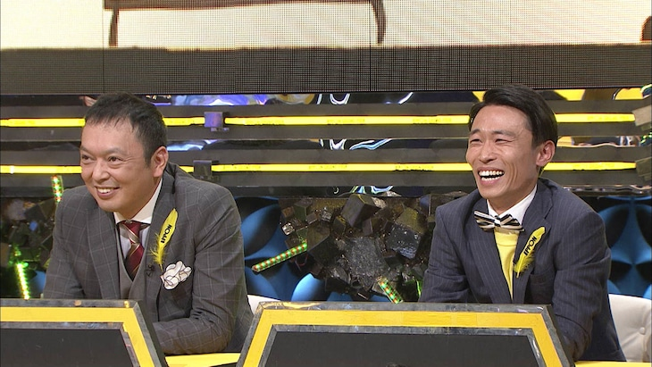 「IPPONグランプリ」18回大会に出場した中川家・礼二(左)、カミナリたくみ(右)。