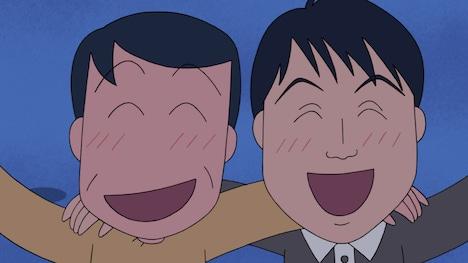 アンジャッシュ児嶋が大島さん役でゲスト声優を務める「ヒロシ、アラスカに行きたいの巻」より。