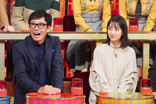 左から生瀬勝久、波瑠。(c)日本テレビ
