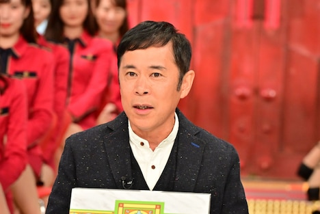 「中居正広の金曜日のスマイルたちへ」にゲスト出演するナインティナイン岡村。(c)TBS