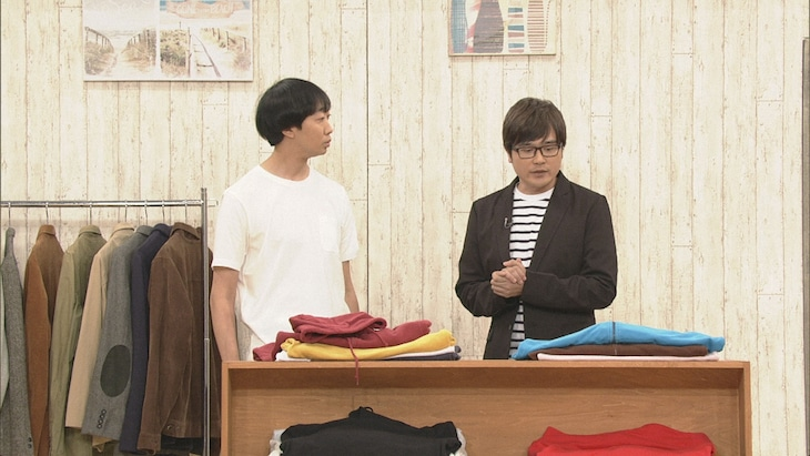 「有田Pおもてなす」10月19日放送回より、ラバーガール。(c)NHK