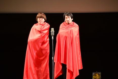 真空ジェシカが披露する「キングオブコント2本目前の芸人」。