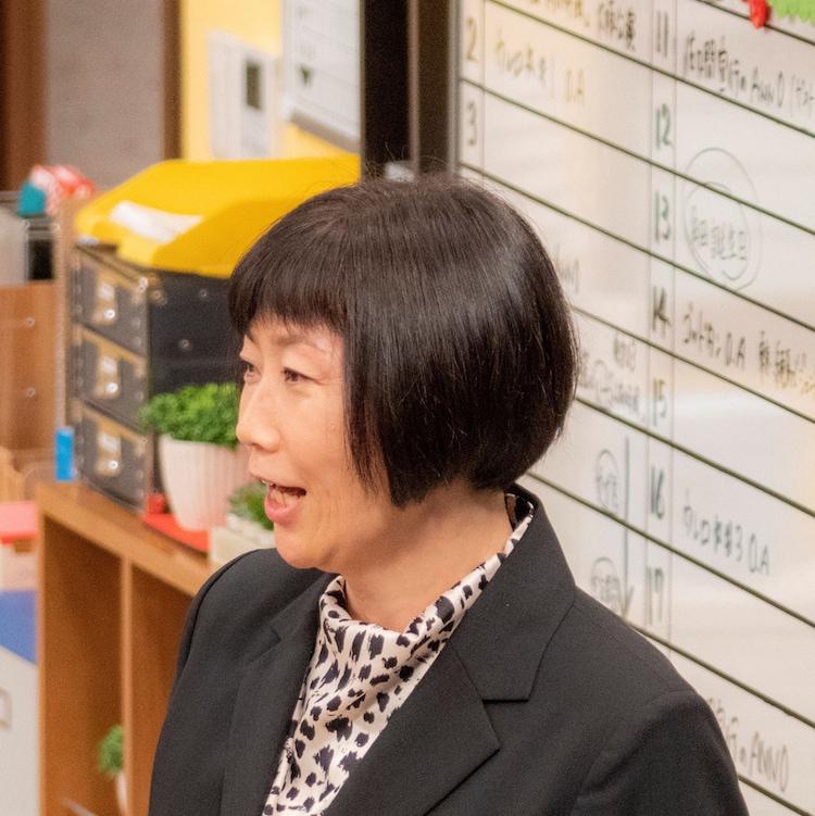 第3話ゲストの峯村リエ。