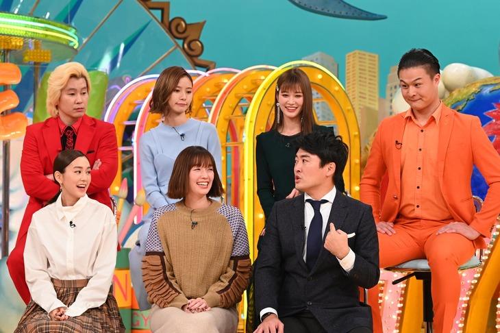 「ザ!世界仰天ニュース 世界のすごい女子2時間スペシャル」のワンシーン。(c)日本テレビ