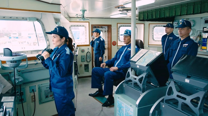 「THE突破ファイル 海上保安庁&日米警察 全部命がけの救出2時間SP」より。(c)日本テレビ