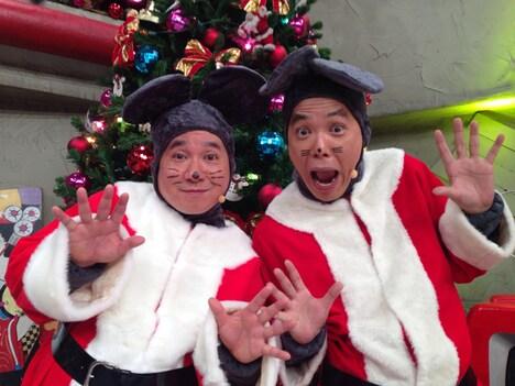 「爆チュー問題クリスマスライブ 2018」より、爆チュー問題。 (c)TITAN / TOPICS / フジテレビ