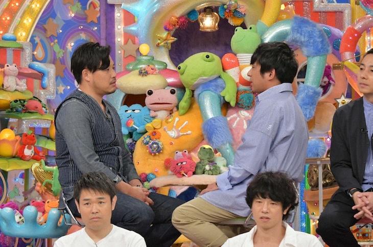 「アメトーーク!」の「もっとやれるはずだったのに…2019反省会」に出演するアルコ&ピース(後列)ら。(c)テレビ朝日